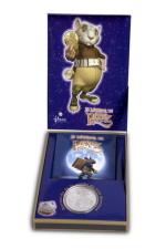 Moneda regalo ratoncito Pérez para bebés y niños