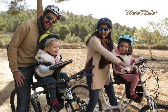 WeeRide, sillas de bicicleta para niños