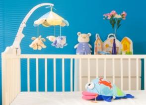 Ambiente adecuado en el cuarto del bebé para favorecer sueño del recién nacido