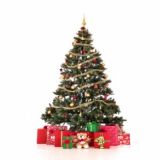 Decorar el rbol de Navidad con nios elbebecom