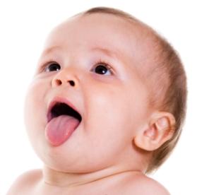 Frenillo sublingual en los bebés
