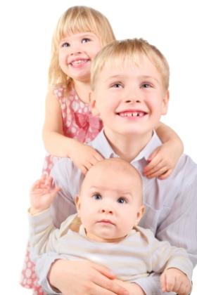 El bebé y la relación con los hermanos