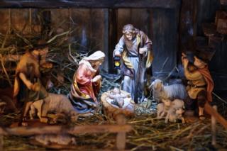Los belenes son tradicionales de la Navidad