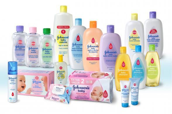 Lote de productos Jonhson´s Baby