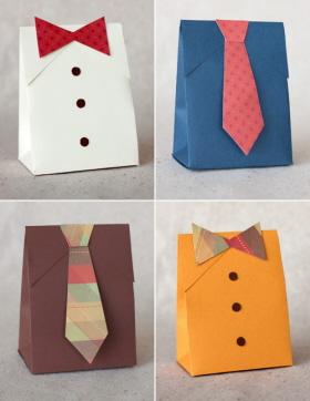 Caja para el regalo del Día del Padre