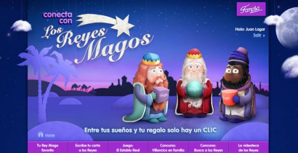 Conecta con los Reyes Magos y gana fantásticos premios