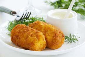 Croquetas de calabaza y queso parmesano   Elbebe.com