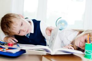 deberes niños primaria