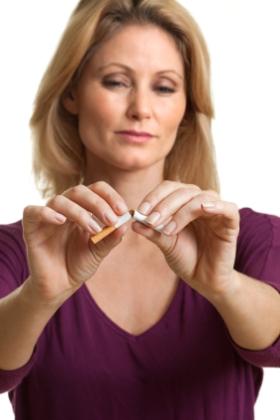 Dejar de fumar antes y durante el embarazo