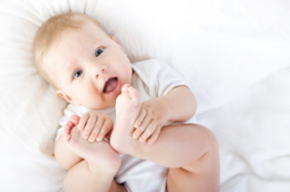 Desarrollo psicomotor de los bebés de 7 siete meses