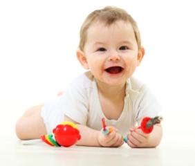 Desarrollo psicomotor de los bebés de  6 meses