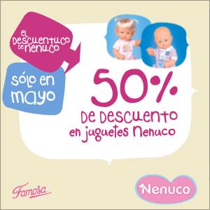 Nenuco ofrece un descuento del 50% en juguetes