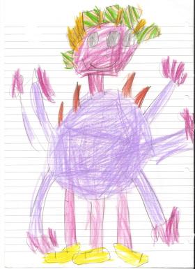 Los dibujos de los niños reflejan sus emociones