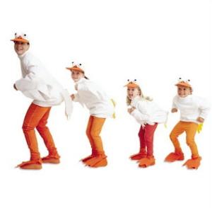 Disfraz casero de pato