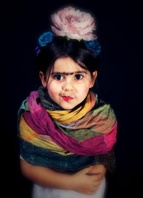 Disfraz de Frida Khalo para niñas