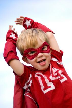 Disfraz de superhéroe para niños
