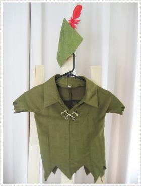 El disfraz de Peter Pan es sencillo de elaborar