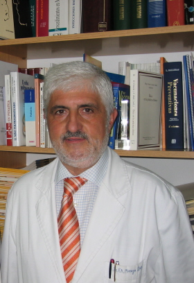 Dr. Fernando Moraga, vicepresidente de la Asociación Española de Vacunología