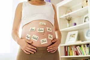 La elección del nombre del bebé es a veces una ardua tarea