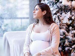 Si estás embarazada, contrarresta los excesos navideños con estas ideas de menús