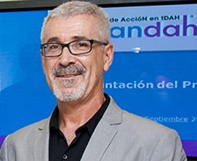 Fulgencio Madrid, presidente de la FEAADAH