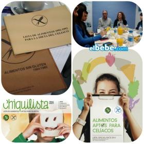 Chiquilista 2014, lista de de alimentos aptos para celíacos