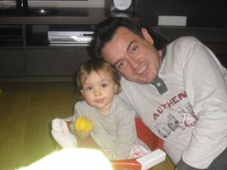 Ona Vidal y Ferrán Vidal, hijo y padre respectivamente