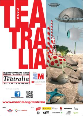 Cartel de Festival de Artes Escénicas Teatralia 2012