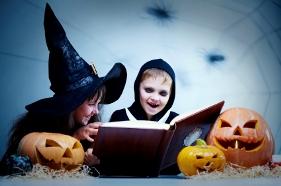 Fiesta de Halloween disfraces de niños