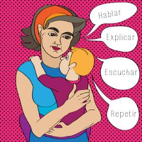 Fomentar el desarrollo del lenguaje en bebés