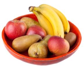 Frutas, alimentación infantil bebés y niños