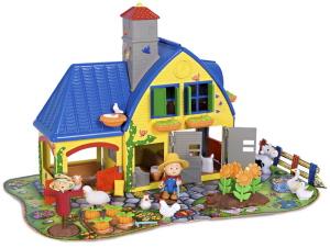 La granja de Caillou es un juguete educativo para niños