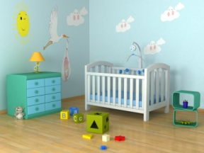 Los muebles necesarios en la habitación del bebé recién nacido