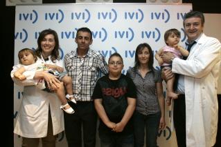 La familia se muestra feliz tras la curación Izan