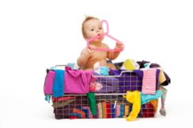 La ropa de los bebés y niños se mancha con facilidad