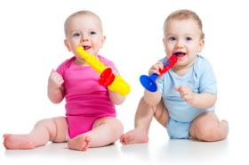 Música y desarrollo del bebé
