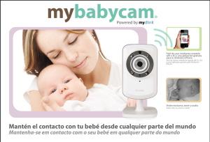 Cámara de vigilancia mybabycam