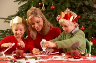 Manualidades con niños en Navidad