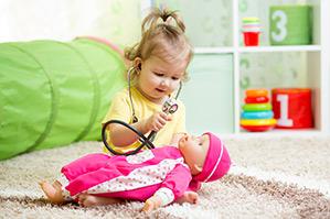 ¿Qué tipo de juegos infantiles son los preferidos de los niños de 1 a 2 años?