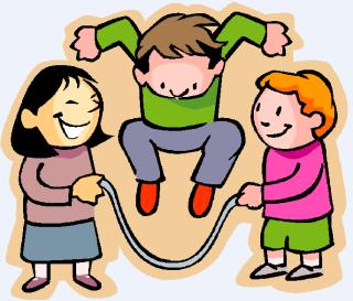 """Niños jugando a la comba con la canción """"Al pasar la barca"""""""