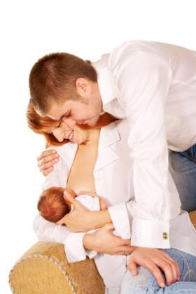 El papel del padre en la lactancia materna