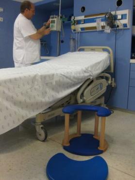 Silla de dilatación para el parto*