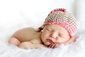 Postura de los bebés recién nacidos
