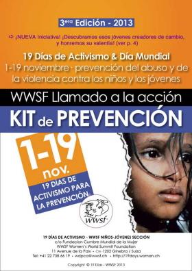 Campaña 19 Días de Prevención del Abuso/violencia contra los Niños/Jóvenes 2013