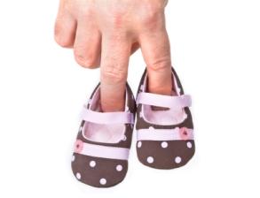 Los primeros zapatos de los bebés