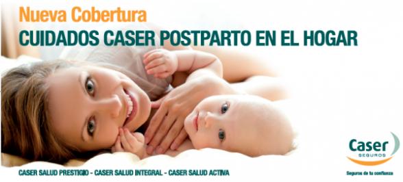 Cuidados Postparto en el Hogar, Caser Salud