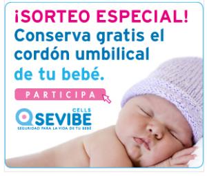 Sevibe conserva gratis el cordón umbilical de tu bebé