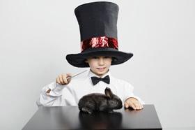 Trucos de magia para niños pequeños