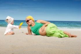 Destinos para ir de vacaciones en el embarazo