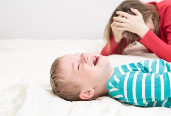 Violencia doméstica y niños | Elbebe.com